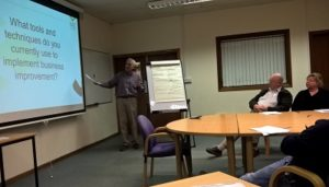 Kev Bevan discussing using figures in your farm business